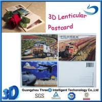 Buy cheap 3D Gift, Premium 3d lenticular postcard03 from wholesalers