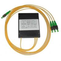 Buy cheap Optical fiber splitter 1x3 FBT optic fiber splitter product