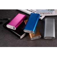 Buy cheap 2015 promotion gift LED indicator 11000mAh Dual USB power bank from wholesalers