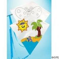 Buy cheap DIY diamond kite/Children paint kite from wholesalers