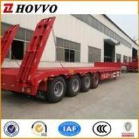 Buy cheap Heavy Duty Gooseneck 4 Axle 80 ton Lowboy Trailers For Sale from wholesalers