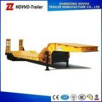 Buy cheap 2 Axles Gooseneck Lowbed Semi Trailer with Ramps from wholesalers