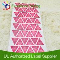 Buy cheap Removable adhesive lable product