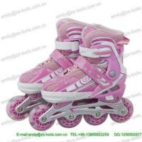 Buy cheap hot sale straight inline speed skates shoes from wholesalers