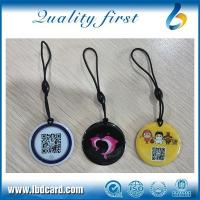 Buy cheap KEY FOB/KEY CHAIN Crystal Expoxy RFID Key Tag with Bungee Cord from wholesalers