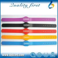 Buy cheap RFID Colorful Silicone Wristband from wholesalers