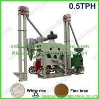 Buy cheap Rice Machinery CXT500X Automatic Mini Rice Mill Plant (Fine Bran) from wholesalers