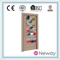 Buy cheap Shoe Rack Home Wire Mesh Chrome Rotation Sliding Out Shoe Racks for Wardrobe Closet from wholesalers