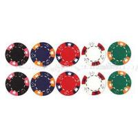 Buy cheap Poker Chip MODEL: HN-309,3 colors clay poker chip-crown design from wholesalers