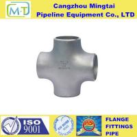 Buy cheap TEE stainless steel butt welded straight cross from wholesalers