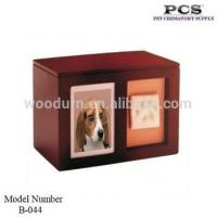 Buy cheap Wood Pet Urns Factory Wood Cremation Urns & Pet Caskets from wholesalers