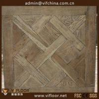 Buy cheap Architecture Design French Oak Engineered Multilayer Versailles Parquet Wood Flooring from wholesalers