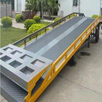 Buy cheap Hydraulic Dock Levelers heavy duty forklift container ramps for warehouse from wholesalers