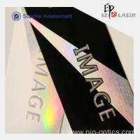 Buy cheap 300g Holographic Custom Security Hang Tags Printing from wholesalers