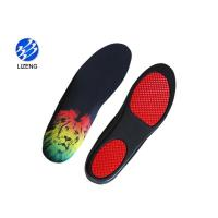 Buy cheap Hot sale shock proof custom PU printed running shoe insoles from wholesalers