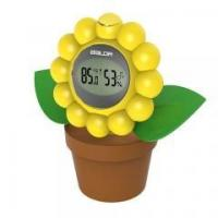 Buy cheap Digital Hygro-thermometer in Flower Shape with Temperature and Humidity Display from wholesalers