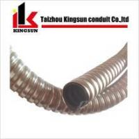 Galvanized steel conduit tube with pvc coated