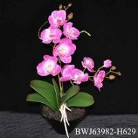handmade real touch artificial orchid for wedding