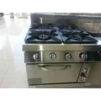 Buy cheap commercial 4 Burners Gas Range With Oven from wholesalers