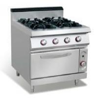commercial kitchen cooker 4 Burners Gas Range With Oven