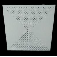 Buy cheap 400*400mm 0.5mm thickness suspended aluminum ceiling with accessories product