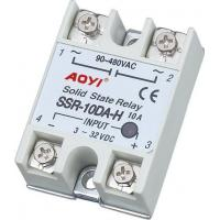 Buy cheap Solid State Relay Single Phase DC to AC solid state relay SSR-10DA-H from wholesalers