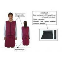 Buy cheap Supper Soft lead vest apron radiation protective lead vest apron from wholesalers