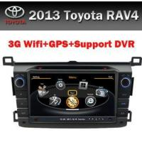 Buy cheap Touch Screen 8 inch Car GPS Toyota RAV4 2013 3G WIFI product