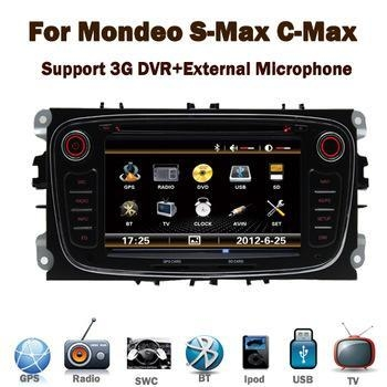 Quality HD digital TFT touch screen car stereo for ford mondeo S-MAX Galaxy for sale