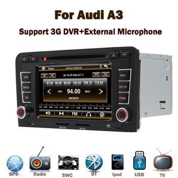 Quality Good quality small order accept car dvd gps navigation system for Audi A3 for sale