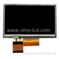 Buy cheap LQ043T1DH01 AT043TN24 V4 AT043TN14 Garmin Nuvi 255WT 260W LCD screen display from wholesalers