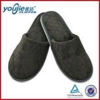Buy cheap high quality bedroom luxury men corduroy slipper from wholesalers