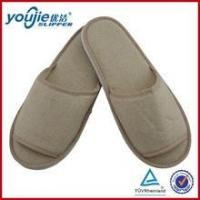 Cotton slippers disposable cotton open toe guest slippers