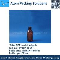 Buy cheap 120ml PET Medicine Bottle from wholesalers