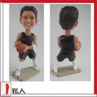 Buy cheap custom boblehead from photo fully handmade cake topper birthday gift from wholesalers