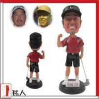 Buy cheap Sports Bobblehead 7 customized personalized golfer bobble head from wholesalers