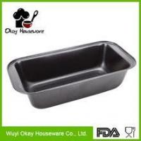 Buy cheap OKAY BK-D1003 Rectangle carbon steel loaf baking pan, bread baking mould from wholesalers