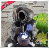 Buy cheap Decoratioin Resin LED Mini Indoor Pots Tabletop Waterfall from wholesalers