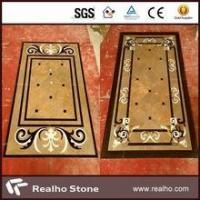 Buy cheap imperial gold marble inlay flooring design product