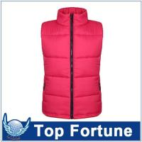 Buy cheap ladies red warm vest ,cool life vest from wholesalers