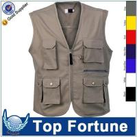 Buy cheap man Sleeveless cheap safety work vest product