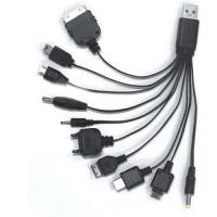 Buy cheap Ten in one mobile adapter USB cable from wholesalers