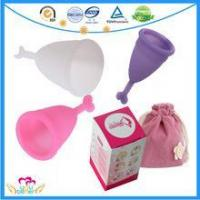Buy cheap Cheap And Good Lady Menstrual Cup Soft Mama Cup Lady Menstruation Cup from wholesalers