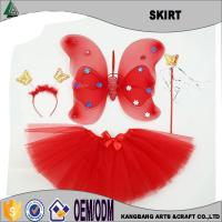 Buy cheap 4 Pieces Red TuTu Skirt Set from wholesalers
