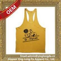 Buy cheap Good quality top level tank top men custom from wholesalers