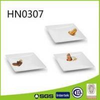 Buy cheap personalized square porcelain dessert plate product