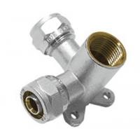 Buy cheap Compression Fittings VTm.334 Double wallplate elbow male from wholesalers