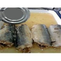 Buy cheap Canned Fish Canned Mackerel in Oil 425g GT9002-2 from wholesalers