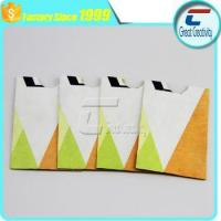 Buy cheap magnetic abrasion protection credit card protector sleeves from wholesalers