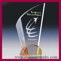 shining crystal sports trophy HDST3004